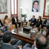 Photo 129 of 152 - Former Pr.Amine Gemayel meets Minister Sleiman Frangieh.2