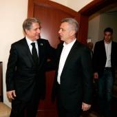 Photo 127 of 152 - Former Pr.Amine Gemayel meets Minister Sleiman Frangieh.