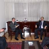Photo 29 of 152 - Former Pr.Amine Gemayel meets Mr.Carlos Edde with a Delegati