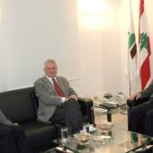 Photo 31 of 152 - Former Pr.Amine Gemayel meets Mr.Doris Chamoun