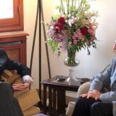 Photo 37 of 152 - Former Pr.Amine Gemayel meets Mr.Jose Ignacio Salafranca