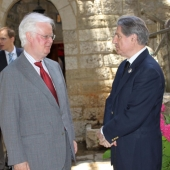 Photo 20 of 152 - Former Pr.Amine Gemayel meets Mr.Micheal Williams