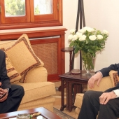 Photo 19 of 152 - Former Pr.Amine Gemayel meets Mr.Moustapha Outhman Ismail