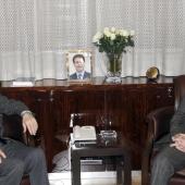 Photo 5 of 152 - Former Pr.Amine Gemayel meets Russian Ambassador