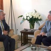 Photo 11 of 152 - Former Pr.Amine Gemayel meets Turkish Ambassador.