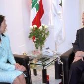 Photo 18 of 152 - Former Pr.Amine Gemayel meets US.Ambassador. (2)
