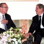 Photo 17 of 152 - Former Pr.Amine Gemayel meets US. Ambassador Jeffrey Feltman