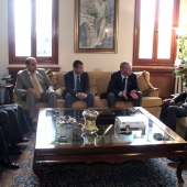Photo 79 of 152 - Former Pr.Amine Gemayel meets a Delegation of CDU parliament