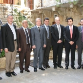 Photo 82 of 152 - Former Pr.Amine Gemayel meets a Delegation of Zahle MPS.