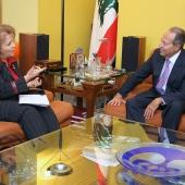 Photo 39 of 152 - Former Pr.Emile Lahoud Meets Mrs Salwa El Amine