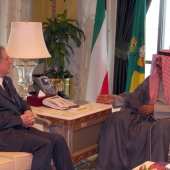 Photo 59 of 152 - Former Pr.Minister Amine Gemayel Meets Koweity Crown Prince