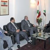Photo 98 of 152 - Former Pr. Sheikh Amine Gemayel Meets Mr.Ayad Allawi With De