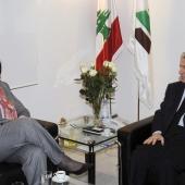 Photo 99 of 152 - Former Pr. Sheikh Amine Gemayel Meets Venuzuela Ambassador
