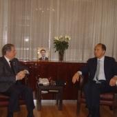 Photo 22 of 25 - Former President meets Ambassador Gabriel Checchia 06032008
