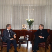 Photo 23 of 25 - Former President meets Monseigneur Luigi Gatti 10032008