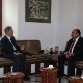 Photo 17 of 57 - الرئيس الجميّل يلتقي سفير الأردن 24/9/2020