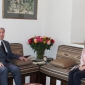 Photo 7 of 14 - Italian ambassador Nicoletta Bombardiere