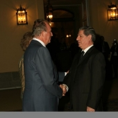 Photo 49 of 56 - Former President meets HH King Juan Carlos 11012007