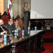 Photo 70 of 152 - Lecture for Former Pr.Amine Gemayel at Brazil.