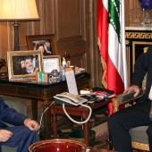 Photo 73 of 152 - MP.Saad Hariri meets MP.Mouhamad Amine Itani.