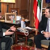 Photo 74 of 152 - MP.Saad Hariri meets MP.Mouhamad Amine Itani1
