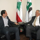 Photo 57 of 152 - MP.Sami Gemayel meets Mr.Nazih Al Asmar.
