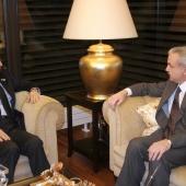 Photo 71 of 152 - Minister Elias Murr Meets Former Pr.Amine Gemayel