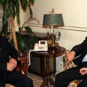 Photo 72 of 152 - Minister Fawzi Saloukh meets MP.Amine Chari