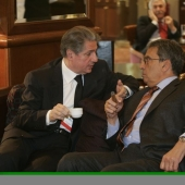 Photo 28 of 56 - Former President meets Amro Moussa in Madrid 11012007