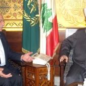 Photo 41 of 152 - Mufti Mouhamad Rashid Kabani meets Mr.Amine Daouk.
