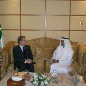 Photo 5 of 25 - Former President meets with Cheikh Nahyan Bin Mubarak 02032008