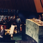 Photo 27 of 88 - Nations Unies Octobre 1985