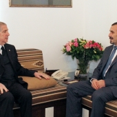 Photo 14 of 14 - Algerian Ambassador Abdel- Karim El Rakaybe 10/8/2020