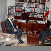 Photo 6 of 56 - Former President meets with special Swiss envoy ambassador Pfirter 13032007