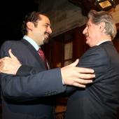 Photo 43 of 152 - Pr.Minister Designated Saad Hariri meets Former Pr.Amine (1)
