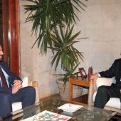 Photo 44 of 152 - Pr.Minister Designated Saad Hariri meets Former Pr.Amine Gem