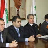 Photo 53 of 152 - Press Conference For Former Pr.Amine Gemayel1