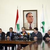 Photo 52 of 152 - Press Conference For Former Pr.Amine Gemayel