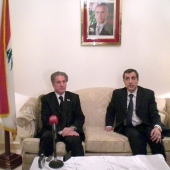 Photo 49 of 152 - Press Conference for Former Pr.Amine Gemayel. (3)