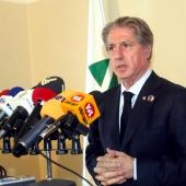Photo 50 of 152 - Press Conference for Former Pr.Amine Gemayel.