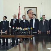 Photo 46 of 152 - Press Conference for Former Pr. Sheikh Amine Gemayel & T (1)