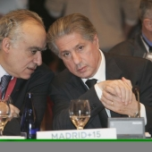Photo 27 of 56 - Former President and Minister Ghassan Salameh in Madrid Conference 11012007