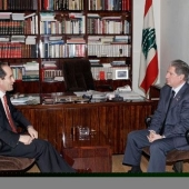 Photo 22 of 56 - Former President Gemayel meets spain ambassador 17012007