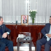 Photo 25 of 25 - Former President meets Yemen Ambassador 07022008