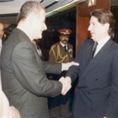 Photo 77 of 88 - President hafez al Assad New Delhi 07031983