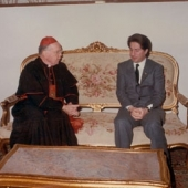 Photo 69 of 88 - Cardinal Terence Cooke in Baabda 30121982