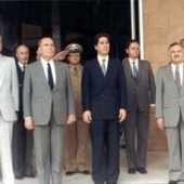 Photo 75 of 88 - President Francois Mitterand in Baabda 20101983