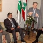 Photo 12 of 56 - Former President meets a delegation from North Lebanon 27032007