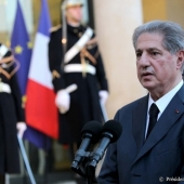 Photo 63 of 110 - President Amine Gemayel at Elysee 30012013