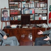 Photo 20 of 56 -  Former President meets Tammam Salam 28022007
